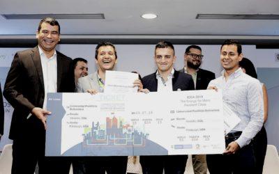 La Pontificia Bolivariana de Medellín gana el I Concurso Universitario de Distritos Térmicos